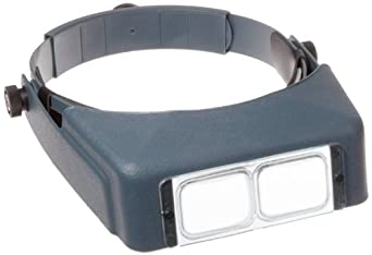 Donegan OptiVISOR LX Headband Magnifier with Optical Grade Acrylic Lensplate