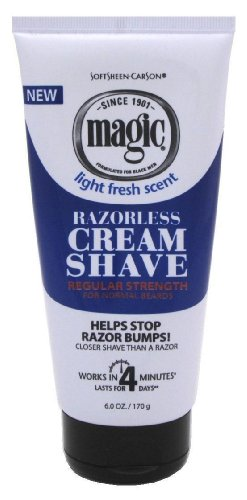 Magic Fragrant Shave Cream 177 ml Tube Depilatory
