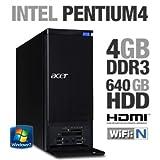 Acer AX3910-U2032 Desktop (Black)