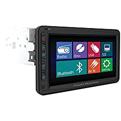 See POWER ACOUSTIK PD-712B Single DIN Multimeadia Source with Detachable Motorized 7-Inch Oversize LCD Touchscreen including BlueTooth 2.0 Details