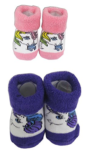Infant my Little Pony 2 Pack Bootie 0-6 Months [5011]