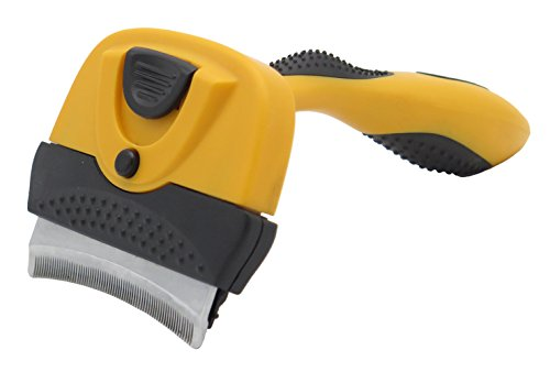Pet Shedding Brush Deshedding Tool for Dogs&cats Pet Grooming Tool & Brush for Large and Medium Dogs&cats Comfortably Removing Loose Undercoat Witho