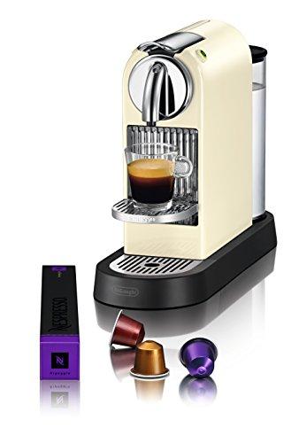 Nespresso Citiz EN166.CW macchina per caffè espresso di De'Longhi, colore Bianco 60's White
