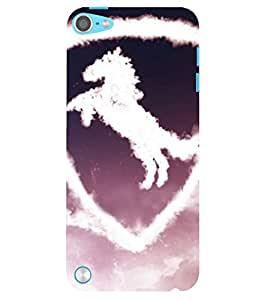 Evaluze car Printed Back Case Cover for APPLE IPOD TOUCH 5