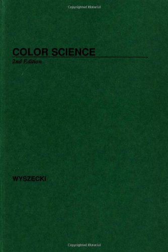 Colour Science: Concepts and Methods, Quantitative Data and Formulae (Pure & Applied Optics)