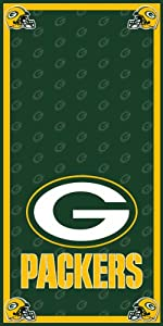 Green Bay Packers Wrap Set, 2 Decals 24x48 for Cornhole Baggo Bag Toss Boards by All American Cornhole