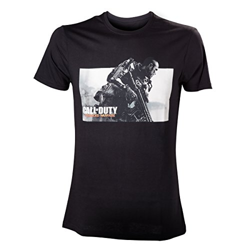 Call Of Duty Advanced Warfare - Key Art Logo T-Shirt nero XXL