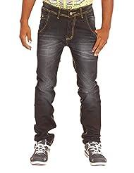 Altran's Men's Protege Tapered Leg Stretch Jeans In Infinite 5297DK