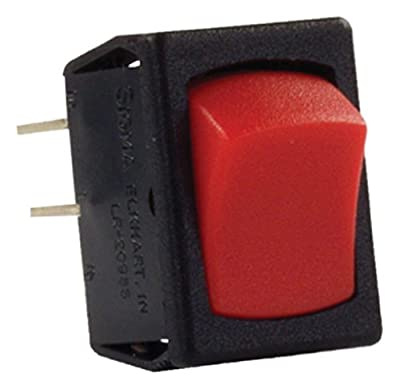 JR Products 12791-5 Mini On/Off Red and Black Switch - Pack of 5