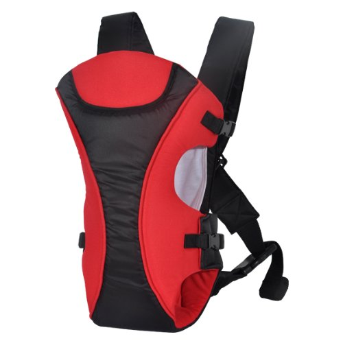 Ecosusi Durable Polyester Babybjorn Carrier Sling Baby Backpack (Red And Black)