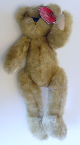 "Regis Corp 2008 Fergus Light Brown Plush Teddy Bear 15"" Tall - 1"