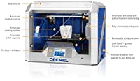 Dremel 3D40-01 Idea Builder 2.0 3D Printer, Wi-Fi Enabled with Guided Leveling by Dremel
