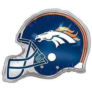 Denver Broncos Helmet Jumbo 26 Foil Balloon
