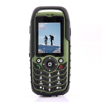 Fortis Waterproof, Dustproof, Shockproof Mobile Phone (Dual SIM)