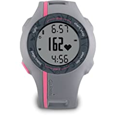 Garmin Forerunner 110 GPS-Enabled Sport Watch with Heart Rate Monitor (Pink) by Garmin