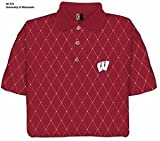 Wisconsin Printed Pique Polo Shirt