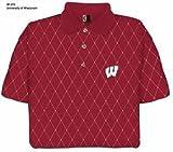 Wisconsin Printed Pique Polo Shirt