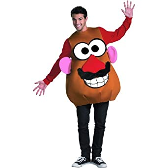 Disguise Mr. or Mrs. Potato Head Deluxe Adult Costume