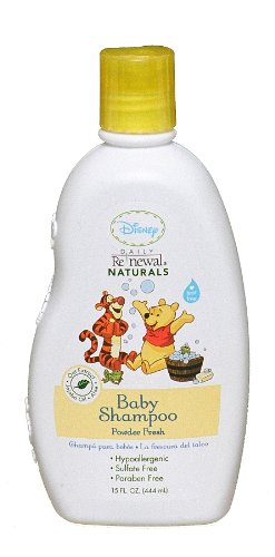 Disney Baby Shampoo Powder, Fresh, 15 Ounce (Pack of 2)