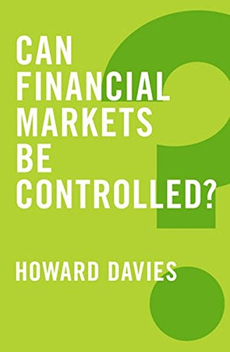 Can Financial Markets Be Controlled (Global Futures)