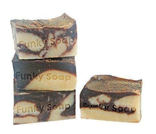 1-pice-Chocolat-Lait-De-Coco-Savon-100-Naturel-Fait-Main-aprox120g