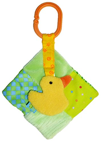Duck Greens Quiltie Rattle