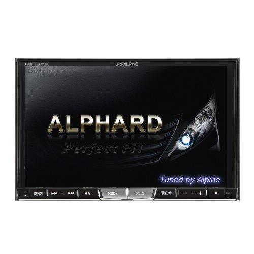 ALPINE(アルパイン)カーナビゲーション8型【アルファード専用】 X800-AL-LED