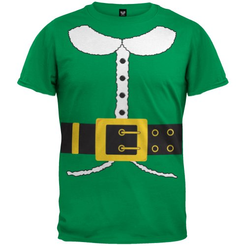Old Glory - Boys Holiday Elf Costume Youth T-shirt