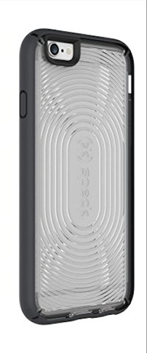 Speck Products Mighty Shell with Plus FACEPLATE Case for iPhone 6 Plus  - Retail Packaging - Clear/Slate