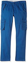 US Polo Boys Trousers (UJTR5178_Dark Blue_M)
