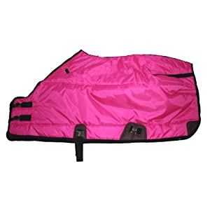 420D Medium Weight Winter Horse Blanket Hot Pink