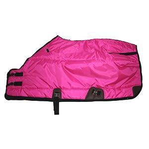 420D Medium Weight Winter Horse Blanket Hot Pink