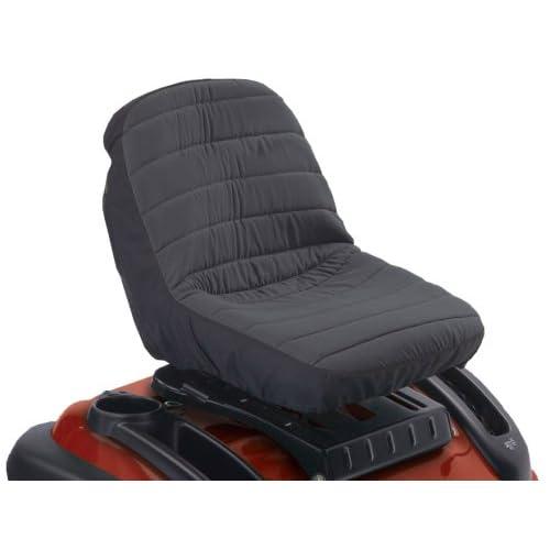 Classic Accessories 12314 Deluxe Tractor Seat Cover, Small, Black