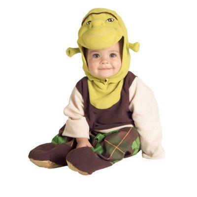 Shrek Romper And Headpiece