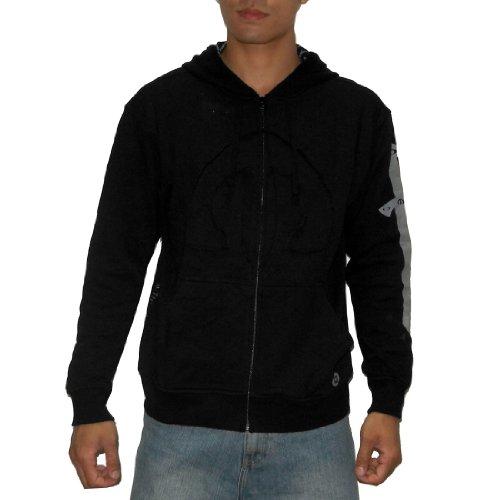OAKLEY Mens Surf & Skate Zip-Up Slim Fit Hoodie Sweatshirt Jacket (Size: XXL)