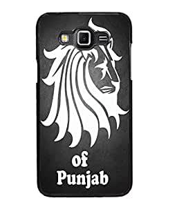 Fuson Lion of Punjab Back Case Cover for SAMSUNG GALAXY GRAND 3 - D4034