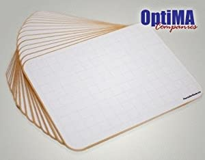 Amazon Com Optima Lap Board With Grid 9x12 Student Dry