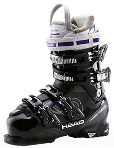 Head - Scarponi da sci da donna Next Edge 80, colore: nero, Nero (nero), 26,5
