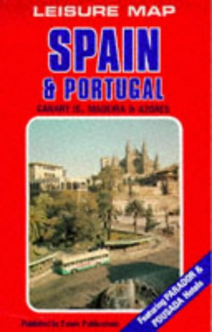Spain and Portugal (European Leisure Map) (Basque, English, Portuguese and Spanish Edition)