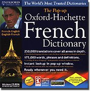 The Pop-up Oxford - Hachette FRENCH/ENGLISH Dictionary made by Oxford University Press