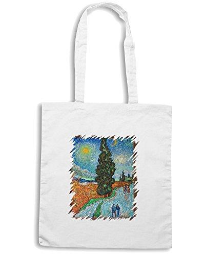 t-shirtshock-borsa-shopping-tda0099-van-gogh51-viale-di-cipressi-sotto-il-cielo-stellato-taglia-capa