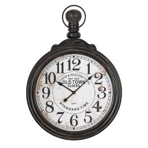 39 Pocket Watch Style Large Wall Clock