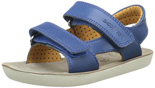 ShoopomGoa Boy Velcro - Sandali aperti Bambino , Blu (Bleu (Cobalt)), 31