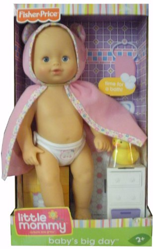 Fisher-Price Little Mommy Baby'S Big Day- Bath Time front-773704