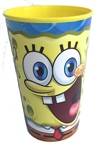 SpongeBob SquarePants Party Favor Drinking Cup 22oz Game Day Sports Licensed Character Cup - 1