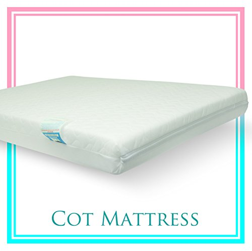 Baby Travel Cot Mattress 104 X 71 X 7.5 Cm Quilted Breathable Antiallergenic-a Primeshoppingmaill By Atm Brand
