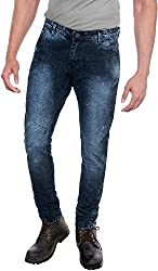E Fashion Up Men's Skinny Fit Denim Jeans J1_Dark Blue_28