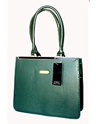Designer Branded Faux Leather Ladies Handbag Shoulder Bag - B00KMW8NUK