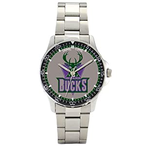 NBA Mens BC-MIL Milwaukee Bucks Coach Series Watch by Game Time