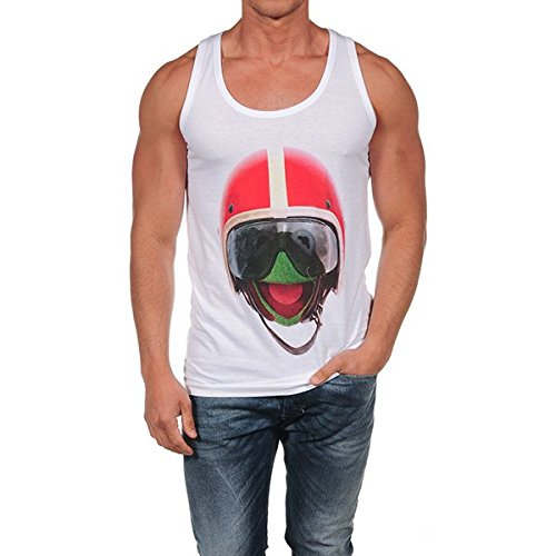 French Kick -  T-shirt - Uomo bianco M